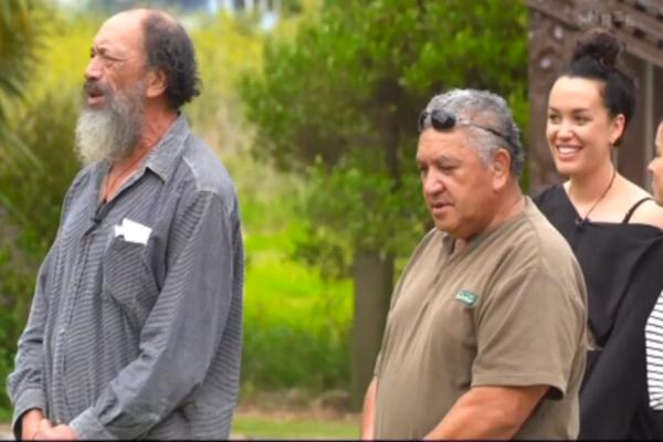 Kanoa Lloy returns to her whanau marae