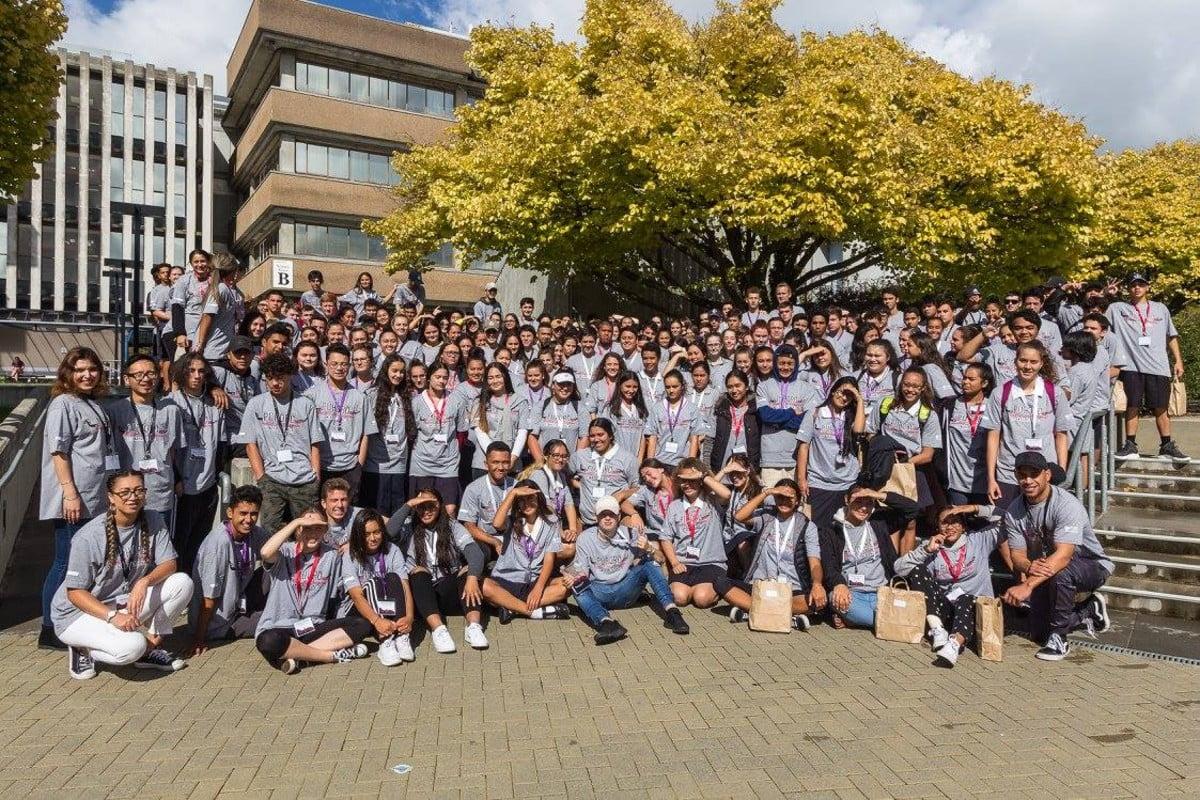Puhoro STEM Academy students