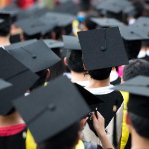 Graduation mortor board hats